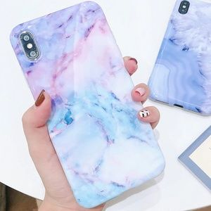 Accessories - NEW iPhone XS Max Watercolor Marble Case